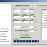 Coil Maestro OPTIMAL COIL Inductance Calculator