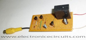 VCR Video Detector Switch Controller Circuit