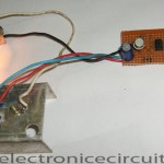 12V Lamp Dimmer Circuit Using 555 Timer IC