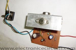 Low Ripple Power Supply Circuit