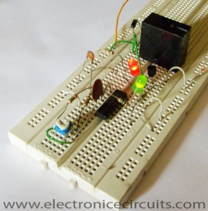 CD4060 IC Timer Circuit  1 min to 2 hours