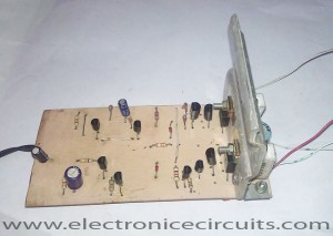 Class AB Transistor Audio Power Amplifier Circuit