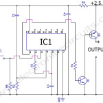 Push button soft latching on off switch circuit diagram
