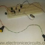 Push button soft latching on off switch circuit filp flop