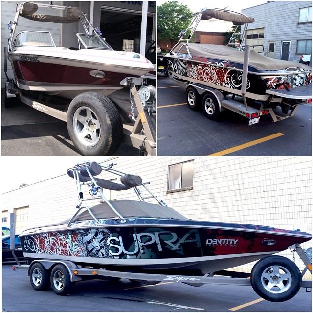 boat wrapping salt lake city