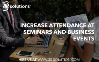 How to Increase Attendance at Seminars and Business Events