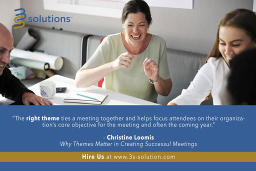 Why Themes Matter in Creating Successful Meetings
