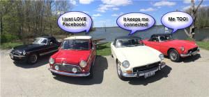 British Cars Love Facebook