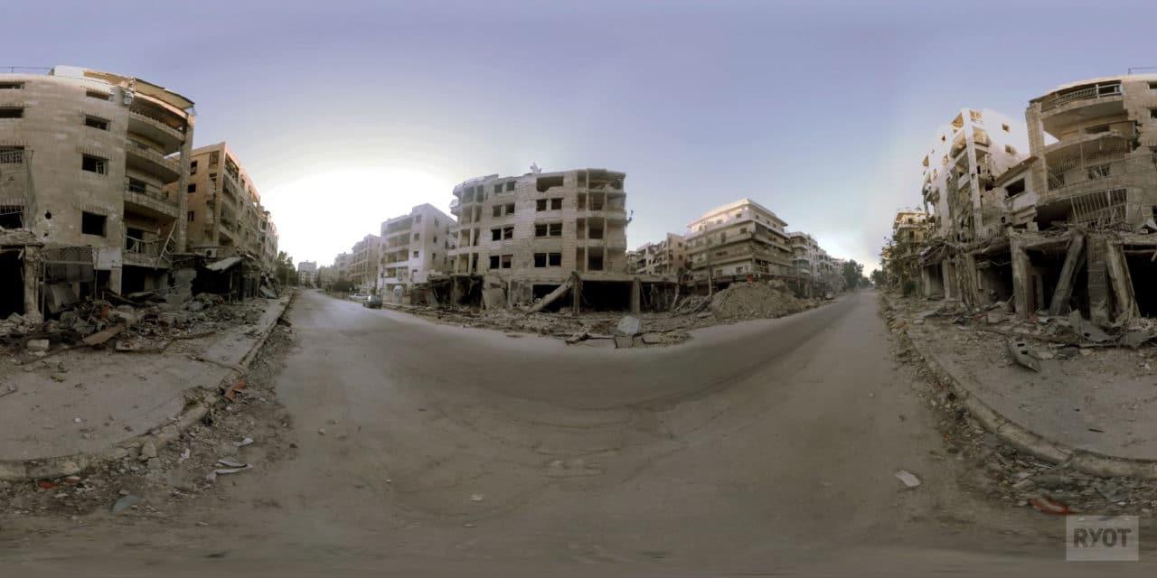 Aleppo in Syria.