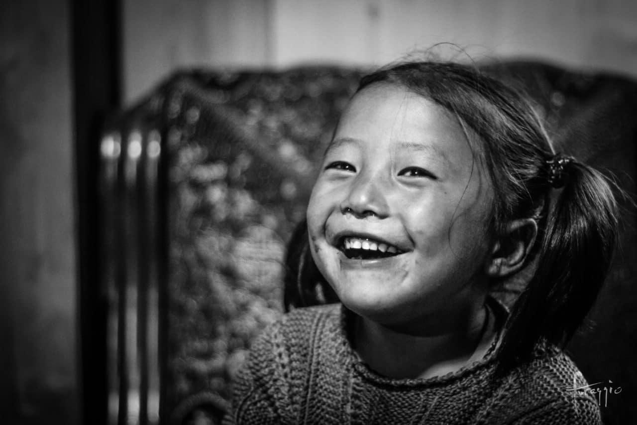 Tibetan girl | Foraggio Photographic
