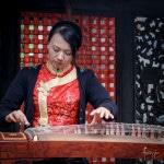 Guzheng player in Chengdu   Foraggio Photographic
