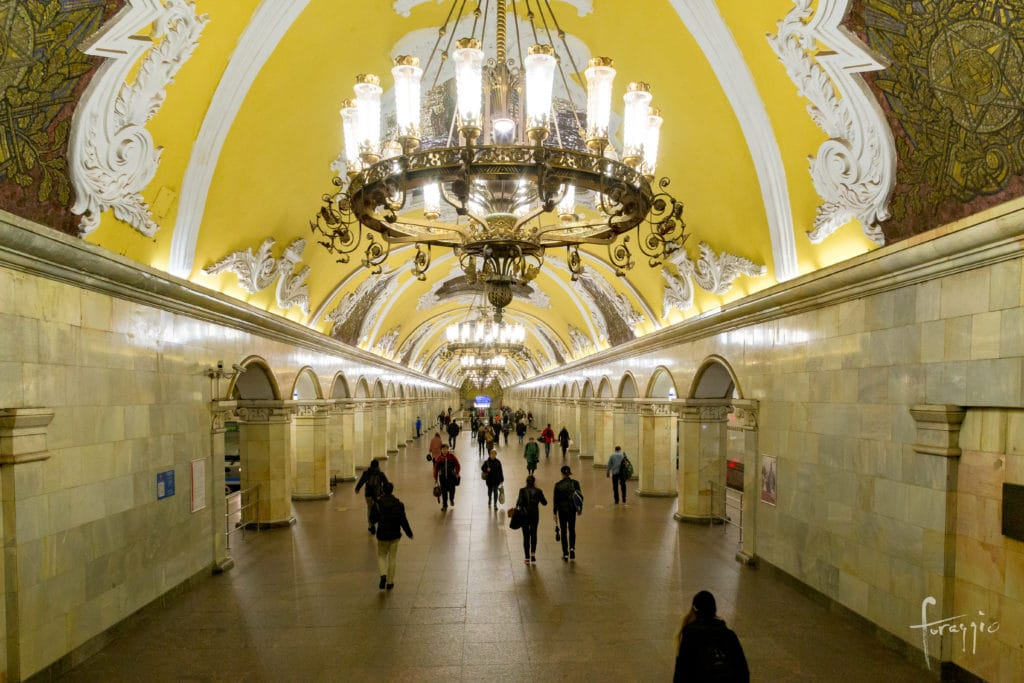 Komsomolskaya | Moscow Metro