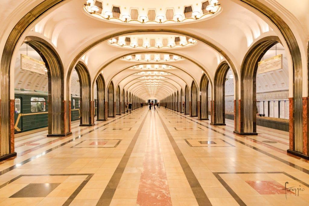 Mayakovskaya Station | Moscow | Russia