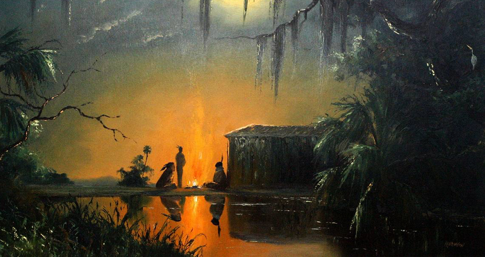 Old Florida Paintings