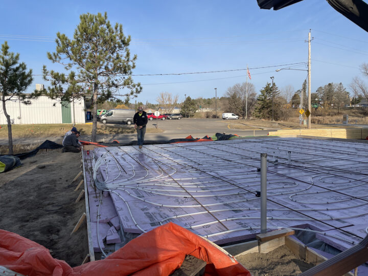 Adding rebar with LLC Concrete