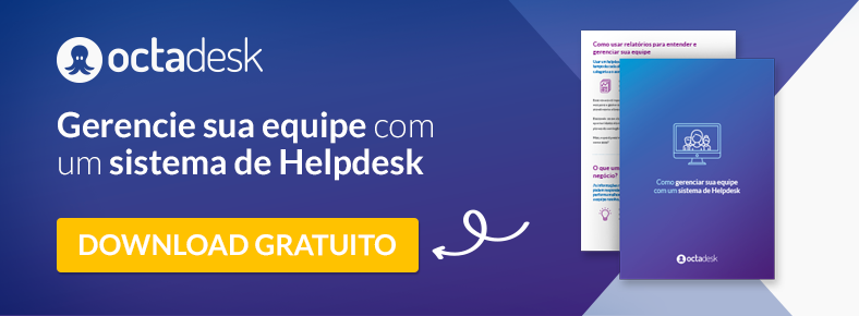 Gerenciamento da equipe helpdesk