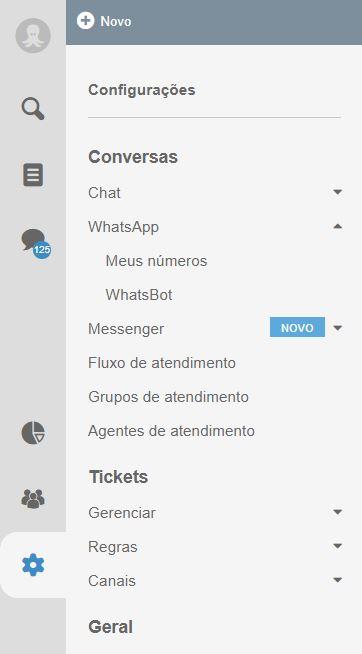 Facebook Messenger no Octadesk