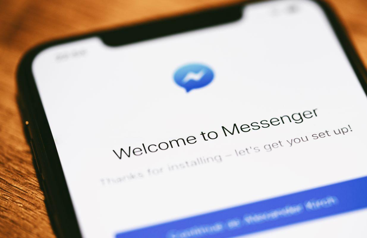 Aplicativo do Facebook Messenger.