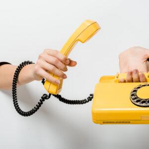 Telefone fixo no WhatsApp Business