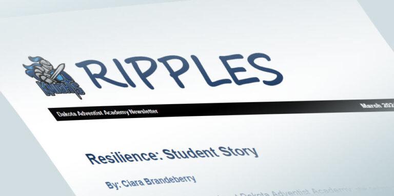 Ripples Newsletter image