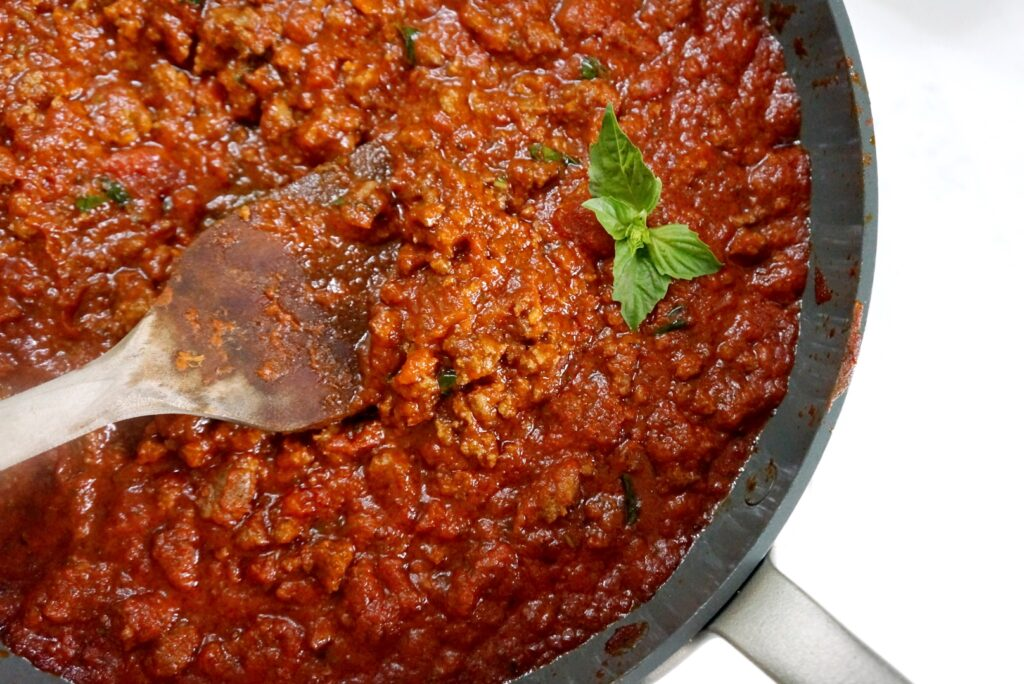Hearty Tomato Meat Sauce