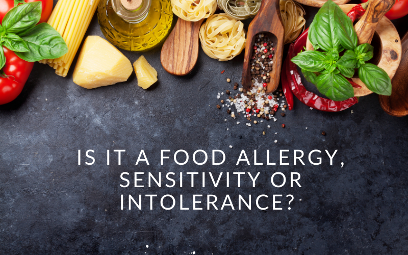 What is a food sensitivity?