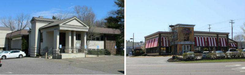 Orange, CT dentist office located on South Lambert across from TGI Fridays