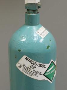 Nitrous Oxide used in twilight dental conscious sedation