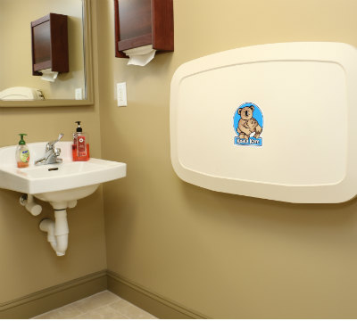 bathroom photo of orange, ct family dentist with changing table