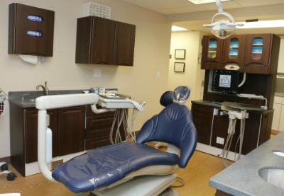 Massage and heated chair for dental treatment