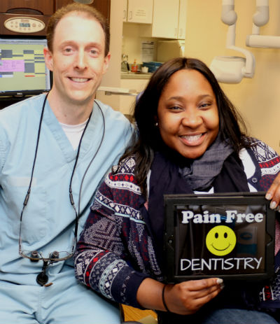 Patient with Guardian Dental Insurance in our Orange, CT office