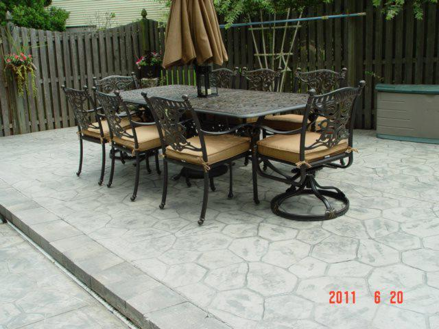 Stamped Concrete Patio Colts Neck NJ 07722