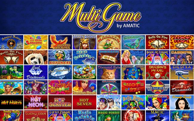 amatic multi games