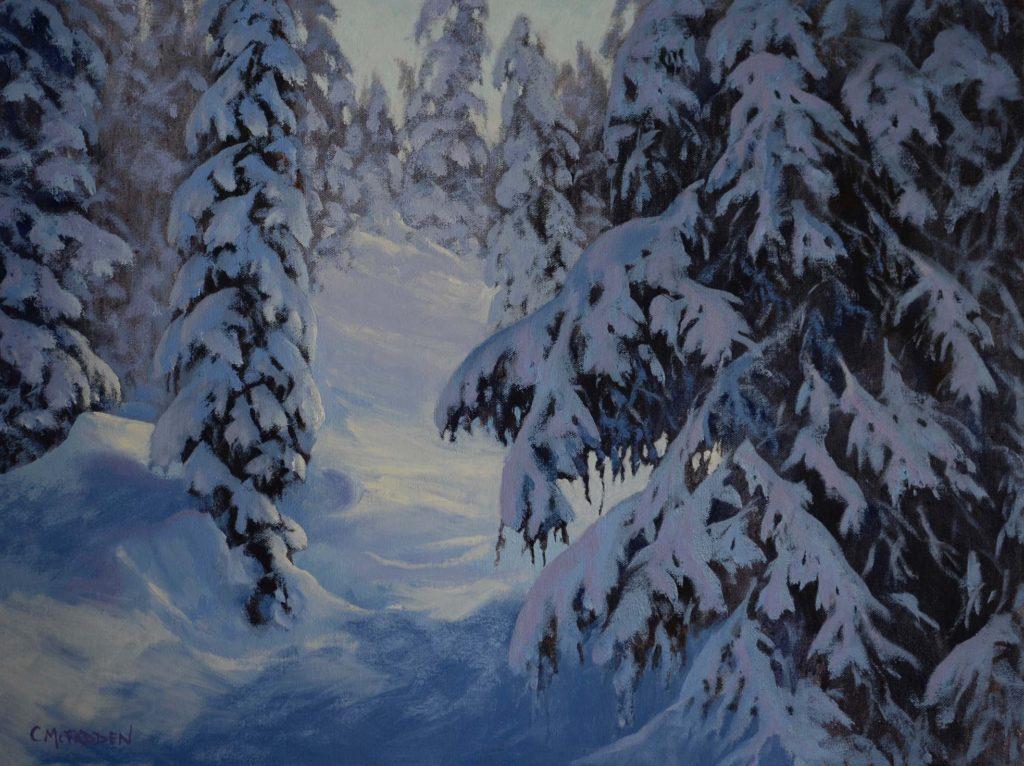 1905 - 18x24 - Snowy Memories
