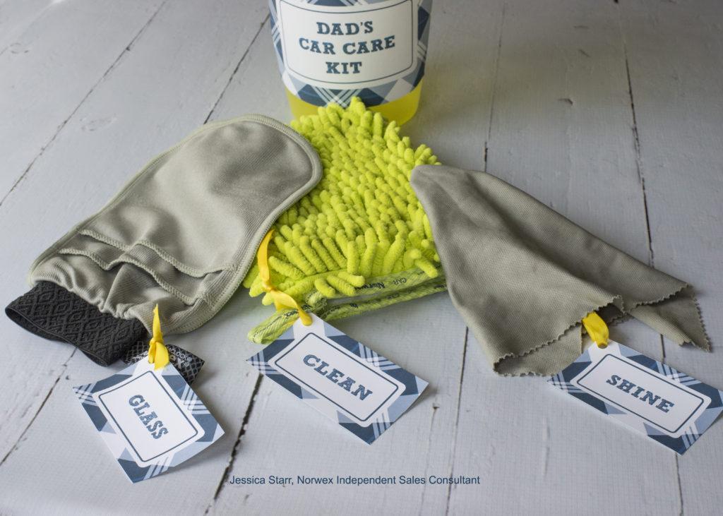 Father's Day gift idea, car washing kit