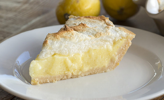 Lemon Meringue Pie: Low carb, gluten free