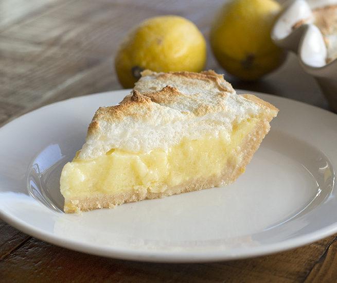 Lemon Meringue Pie: Low carb, gluten free