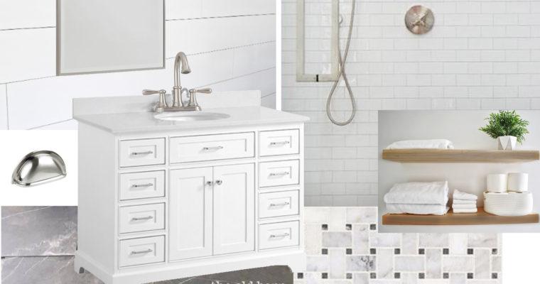 Master Bath Design Boards