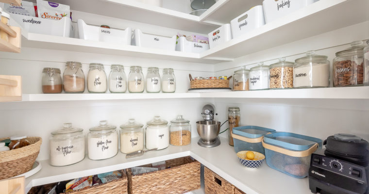 Pantry Design and Organization