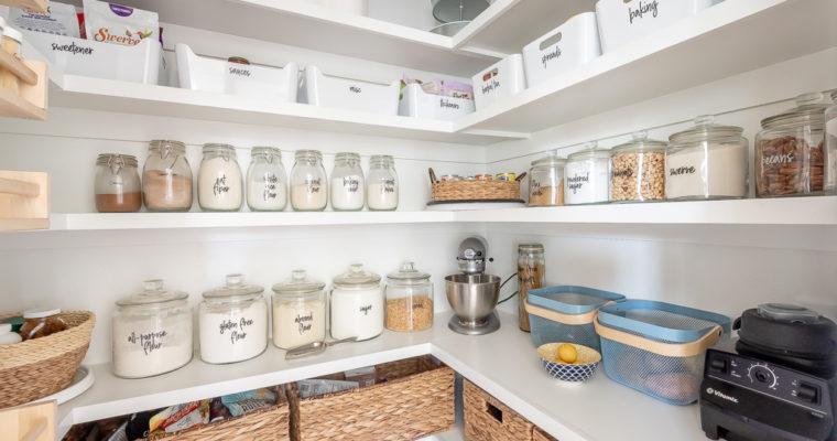 Pantry Design and Organization