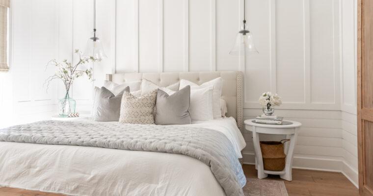 Make your bedroom a cozy retreat