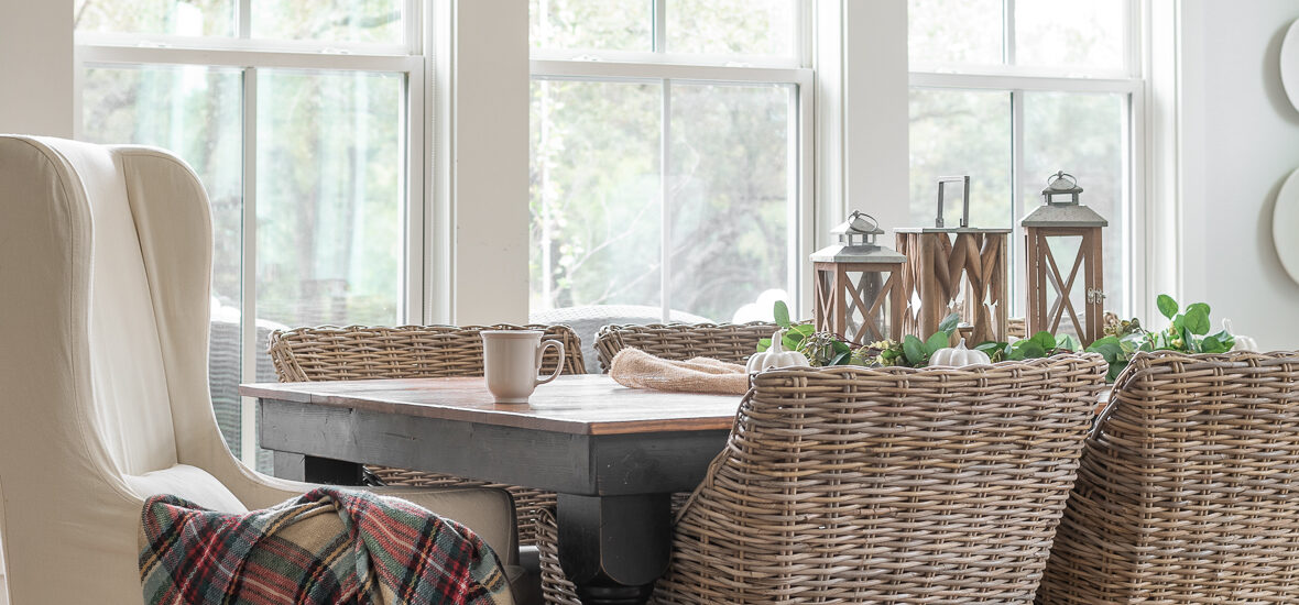 Simple Ways to give your home cozy Fall vibes