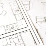 a picture of a close up of a floor plan