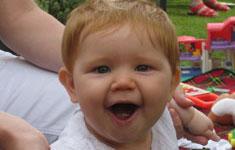 Happy Baby Girl