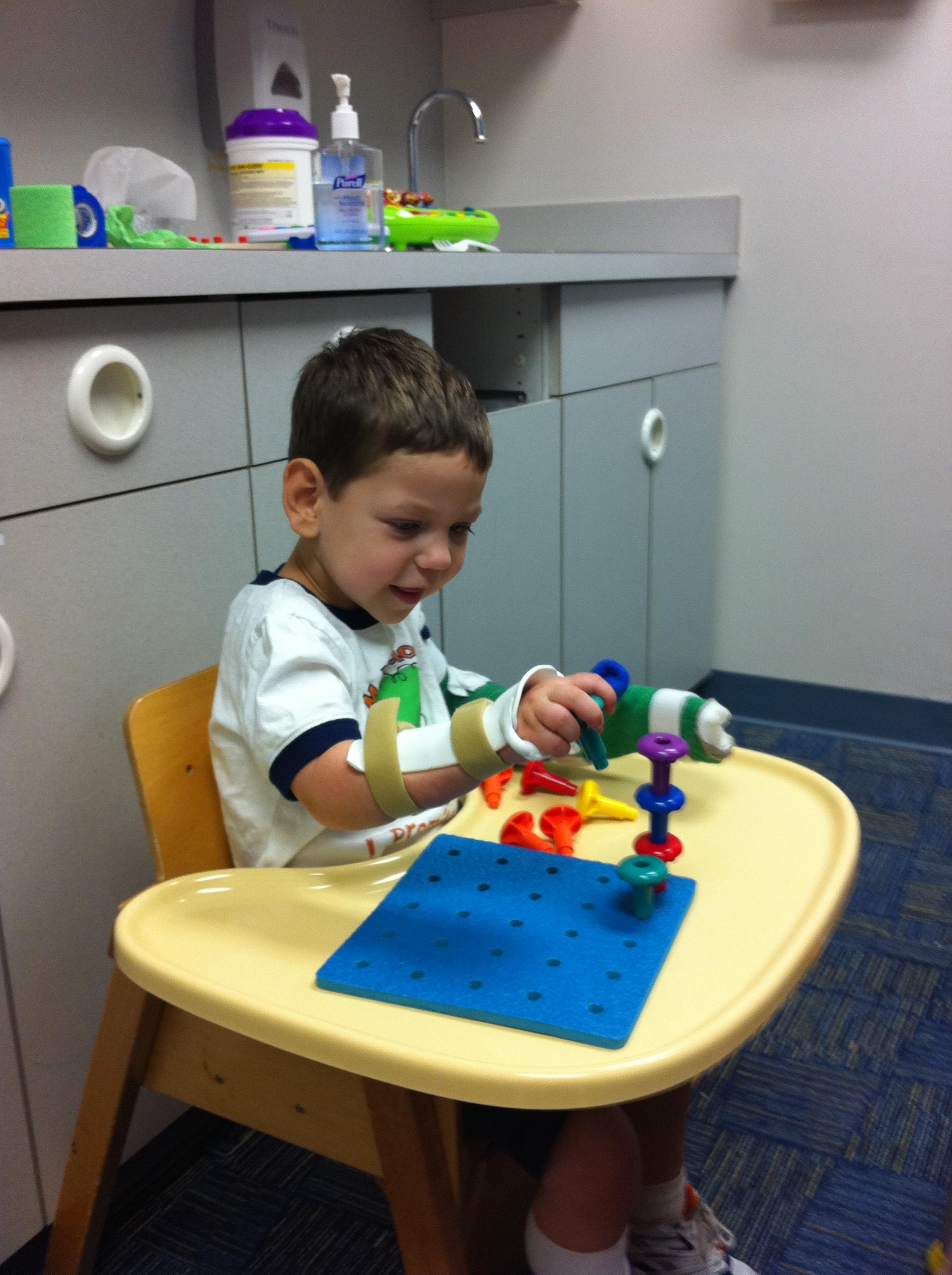 Introducing Evan – And My Streak for Pediatric Stroke