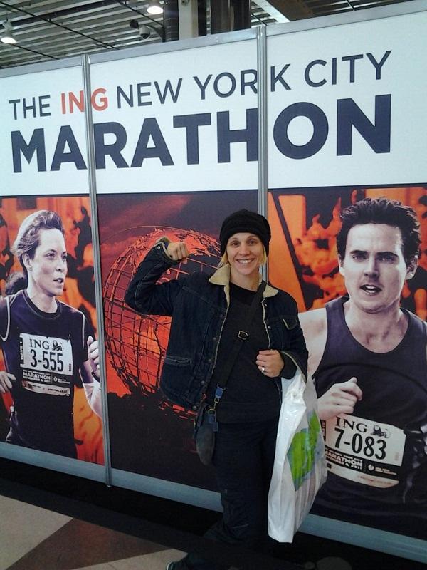 NYC Marathoner Runs for Infant Stroke Survivors