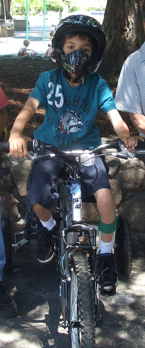 Brian – Bike Rider, Soccer Player, and Gamer