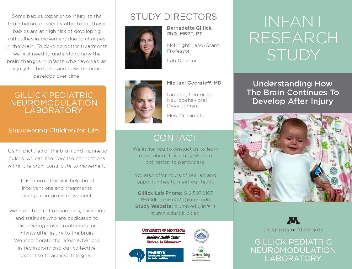 Cerebral Palsy Research Studies Seeking Participants – University of Minnesota