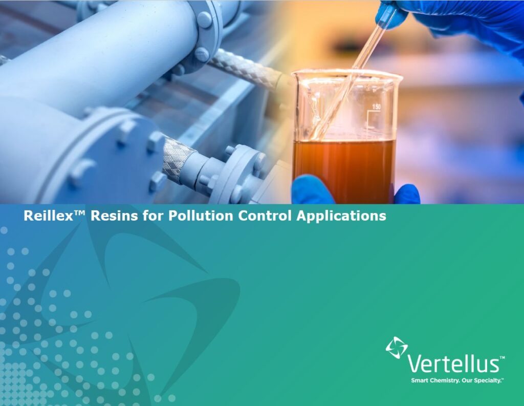 Reillex™ Resins for Pollution Control Applications
