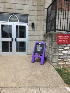 The Amen Corner in Danville, KY (signs)